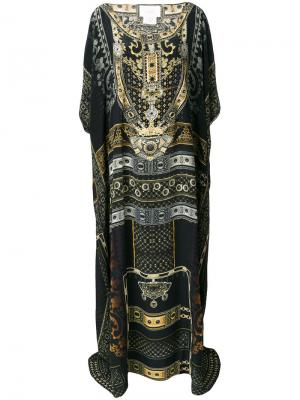 For the love of lhasa kaftan dress Camilla. Цвет: многоцветный
