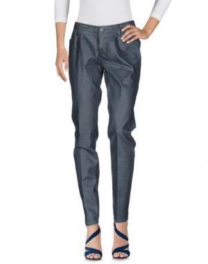 Джинсовые брюки LEROCK. Цвет: грифельно-синий