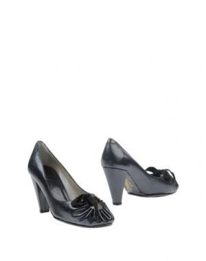 Ботинки MALOLES. Цвет: темно-синий