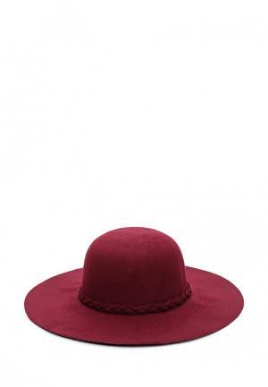 Шляпа Piazza Italia. Цвет: бордовый