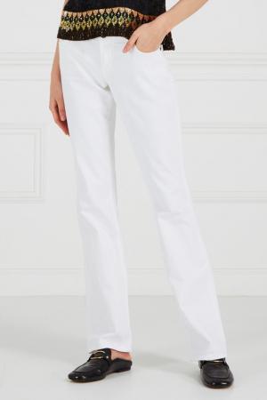 Расклешенные джинсы Citizens of Humanity. Цвет: белый