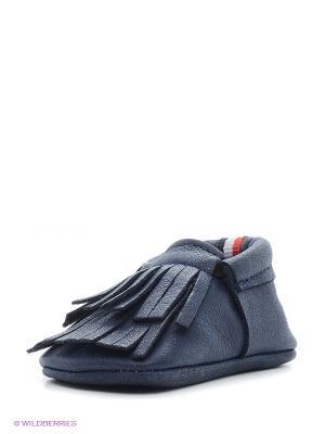 Пинетки U.S. Polo Assn.. Цвет: темно-синий