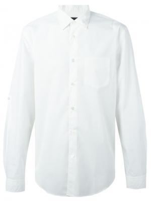Классическая рубашка John Varvatos. Цвет: белый