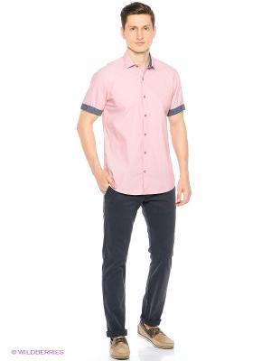 Рубашка S.OLIVER. Цвет: розовый, красный