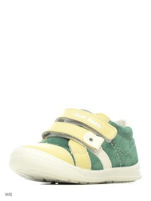 Ботинки San Marko. Цвет: зеленый, желтый