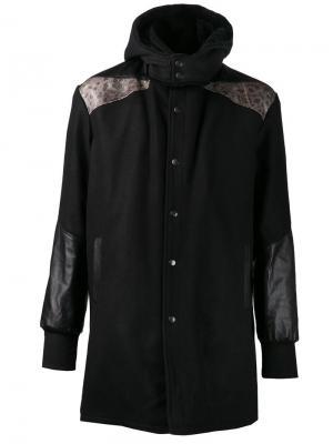 Пальто Ada + Nik. Цвет: чёрный