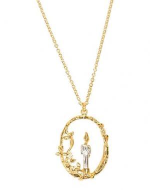 Ожерелье ALEX MONROE. Цвет: золотистый
