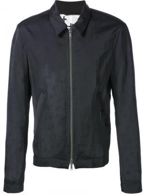 Легкая куртка Haider Ackermann. Цвет: чёрный