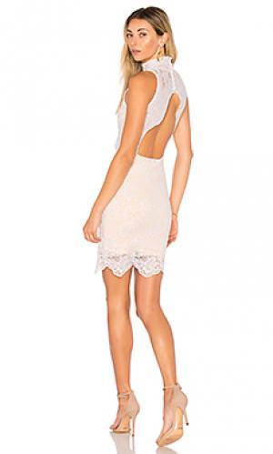 Мини платье victorian Nightcap. Цвет: белый