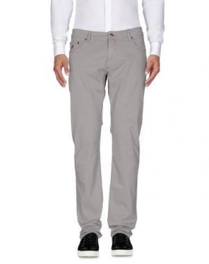 Повседневные брюки MCS MARLBORO CLASSICS. Цвет: светло-серый