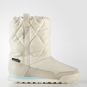 Сапоги Climawarm Snowpitch Slip-On  TERREX adidas. Цвет: белый