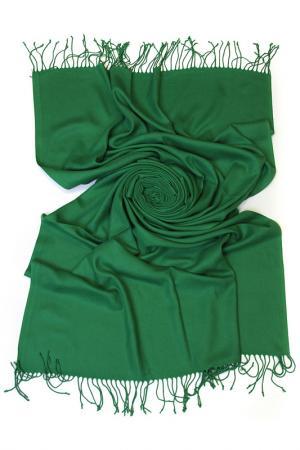 Палантин Frantelli. Цвет: глубокий зеленый