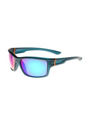 Солнцезащитные очки Gusachi. Цвет: черный, фиолетовый
