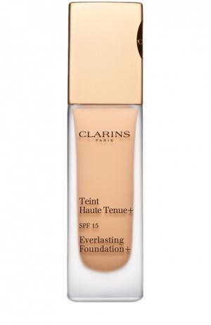 Устойчивый тональный крем Teint Haute Tenue, оттенок 110 Clarins. Цвет: бесцветный