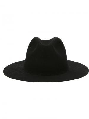 Фетровая шляпа Études. Цвет: чёрный