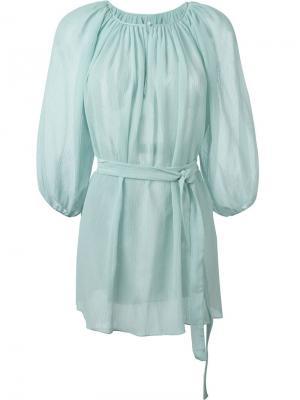 Платье El Matador Marysia. Цвет: синий