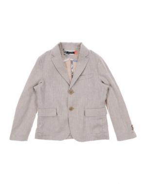 Пиджак TAGLIATORE. Цвет: голубиный серый