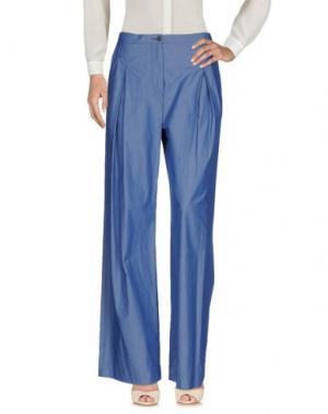 Повседневные брюки ATTIC AND BARN. Цвет: пастельно-синий