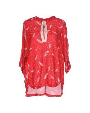 Блузка ..,MERCI. Цвет: красный