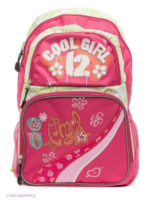 Рюкзак COOL GIRL Centrum. Цвет: розовый, белый, светло-зеленый