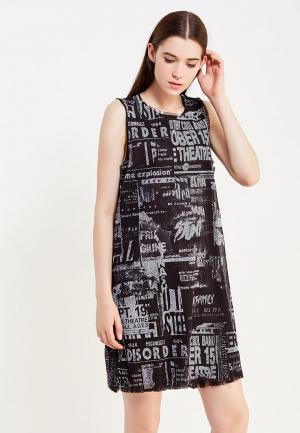 Платье Diesel. Цвет: серый