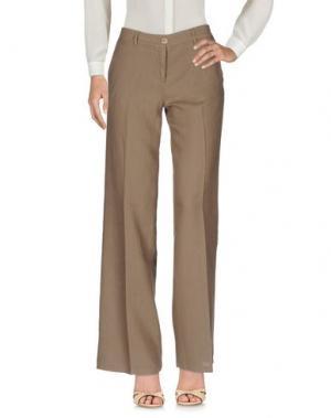 Повседневные брюки LA FEE MARABOUTEE. Цвет: хаки