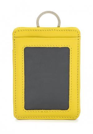 Обложка для документов Pellecon. Цвет: желтый