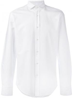 Классическая рубашка Hydrogen. Цвет: белый