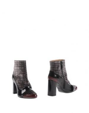 Полусапоги и высокие ботинки STEPHANE KÉLIAN. Цвет: стальной серый
