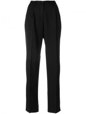 Классические брюки с завышенной талией Pence. Цвет: чёрный