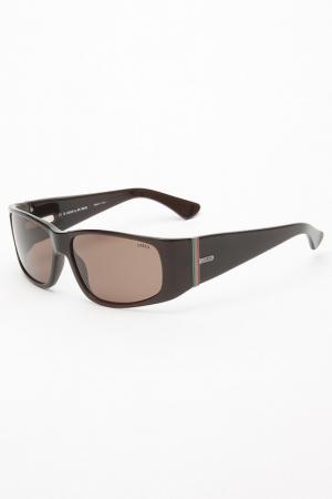 Очки солнцезащитные Lozza. Цвет: коричневый
