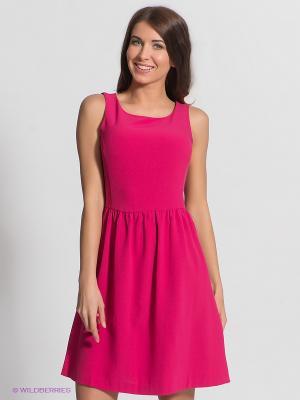 Платье Baon. Цвет: фуксия