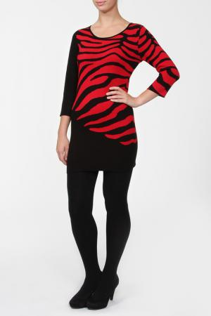 Блузка Frank Lyman Design. Цвет: черно-красный