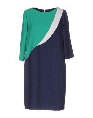 Короткое платье HANITA. Цвет: синий