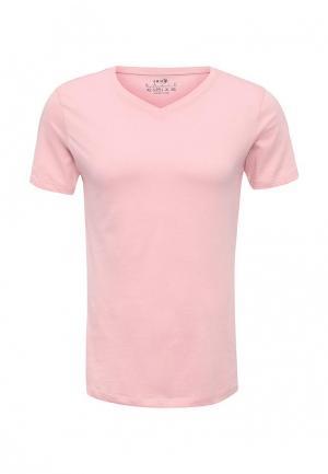 Футболка oodji. Цвет: розовый