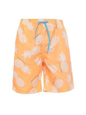Плавательные шорты Барбадос Nothing but Love. Цвет: белый, голубой, оранжевый