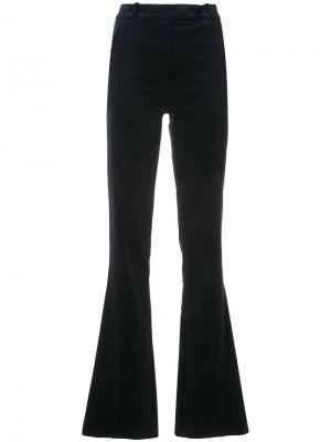 Расклешенные брюки Martin Grant. Цвет: синий