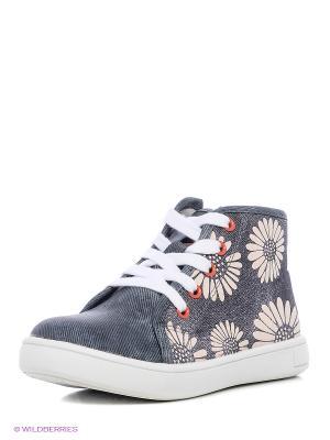 Ботинки Indigo kids. Цвет: серый, темно-серый, бронзовый