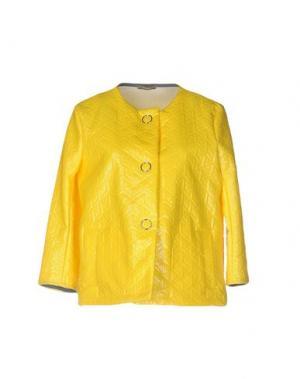 Куртка DIXIE. Цвет: желтый