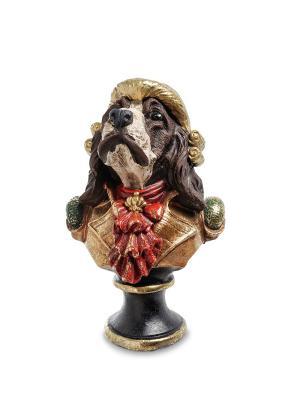 Статуэтка  Собака Жан-Пьер Art East. Цвет: бронзовый, красный