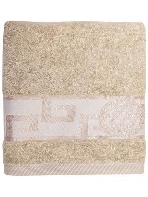 Полотенце банное 50*90 Bonita Медея, махровое, Бисквит. Цвет: светло-бежевый