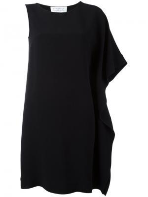 Платье на одно плечо Gianluca Capannolo. Цвет: чёрный