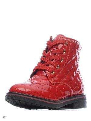 Ботинки Flamingo. Цвет: красный