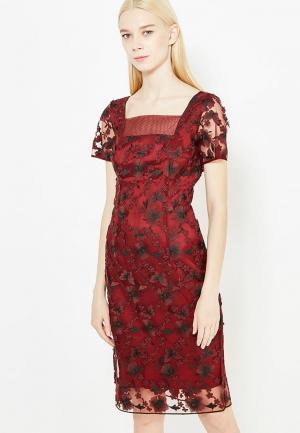 Платье Tresophie. Цвет: бордовый