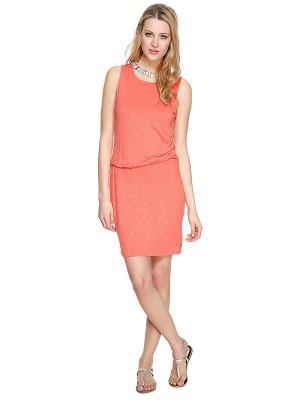 Платье S.OLIVER. Цвет: светло-коралловый