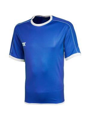 Футболка игровая Siena 2K. Цвет: синий, белый