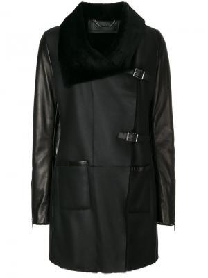 Пальто с большим воротником Barbara Bui. Цвет: none