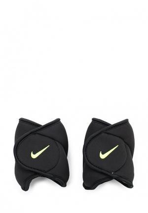 Утяжелители Nike. Цвет: черный