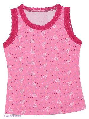 Майка для девочек Mark Formelle. Цвет: розовый