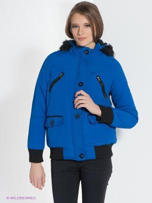 Куртка Bellfield. Цвет: синий, черный